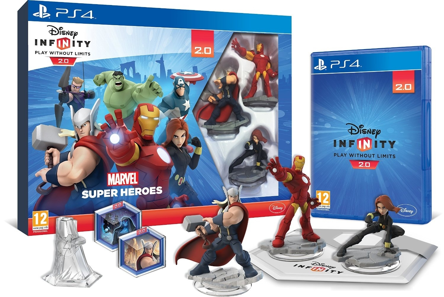 Disney Infinity 2.0 Marvel Super Heroes (PS4)